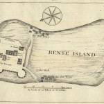 Map of Bunce Island from 1727